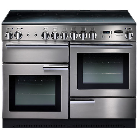 Buy Rangemaster Professional+ 110 Induction Hob Range Cooker, Stainless Steel Online at johnlewis.com