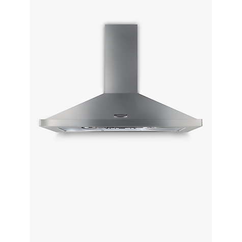 Buy Rangemaster LEIHDC110SC Chimney Cooker Hood, Stainless Steel Online at johnlewis.com