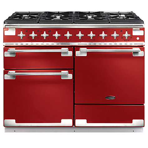 Buy Rangemaster Elise 110 Dual Fuel Cooker, Red Online at johnlewis.com