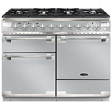 Buy Rangemaster Elise 110 Dual Fuel Cooker, Stainless Steel Online at johnlewis.com