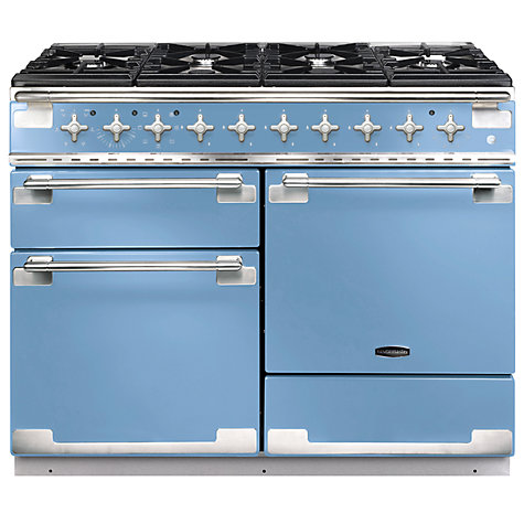 Buy Rangemaster Elise 110 Dual Fuel Cooker, Blue Online at johnlewis.com