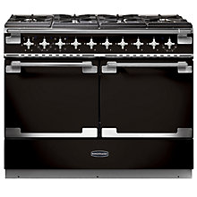 Buy Rangemaster Elise SE 110 Dual Fuel Cooker, Black Online at johnlewis.com
