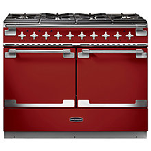 Buy Rangemaster Elise SE 110 Dual Fuel Cooker, Red Online at johnlewis.com