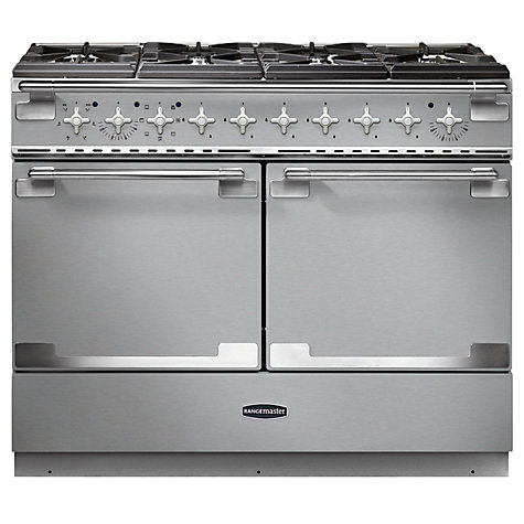 Buy Rangemaster Elise SE 110 Dual Fuel Cooker, Stainless Steel Online at johnlewis.com