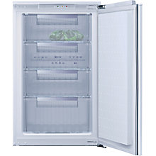 Buy Neff G5624X7GB Integrated Freezer, A+ Energy Rating, 54cm Wide Online at johnlewis.com
