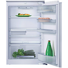 Buy Neff K5604X7GB Integrated Larder Fridge, A+ Energy Rating, 54cm Wide Online at johnlewis.com
