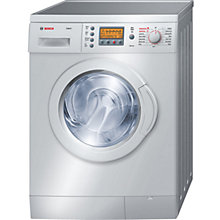 Buy Bosch Exxcel WVD245S3GB Washer Dryer, 5kg Wash/2.5kg Dry Load, C Energy Rating, 1200rpm Spin, Silver Online at johnlewis.com