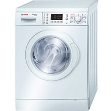 Buy Bosch WVD24460GB Washer Dryer, 5kg Wash/2.5kg Dry Load, C Energy Rating, 1200rpm Spin, White Online at johnlewis.com