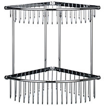 Buy Samuel Heath Double Shower Basket, Large Online at johnlewis.com
