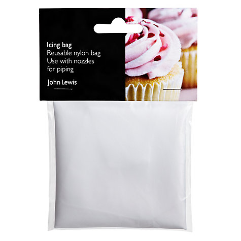 Buy John Lewis Reusable Icing Bag Online at johnlewis.com