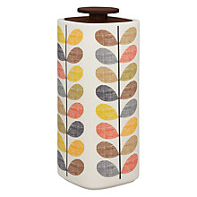 Buy Orla Kiely Multi Stem Spaghetti Holder Storage Jar, Multi, 3.5L Online at johnlewis.com