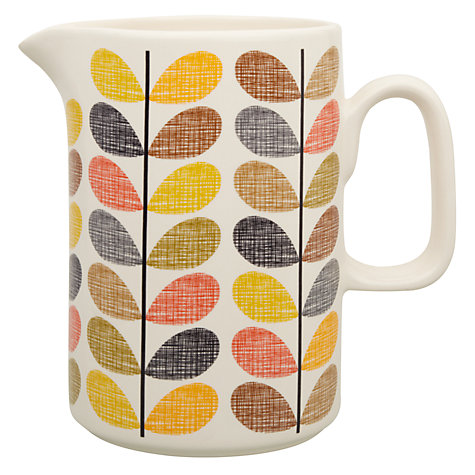 Buy Orla Kiely Multi Stem Pitcher, 1.5L Online at johnlewis.com