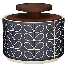 Buy Orla Kiely Linear Stem Sugar Storage Jar Online at johnlewis.com