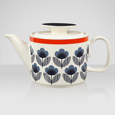 Buy Orla Kiely Poppy Meadow, Teapot, 1L Online at johnlewis.com
