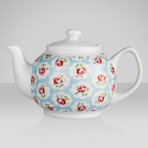 Buy Cath Kidston Teapot, Provence Rose, 6 Cup Online at johnlewis.com