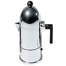 "Buy Alessi ""La Cupola"" Espresso Coffee Maker, 3 Cup Online at johnlewis.com"