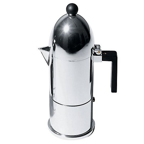 Buy Alessi La Cupola, Espresso Coffee Maker, 6 Cup Online at johnlewis.com