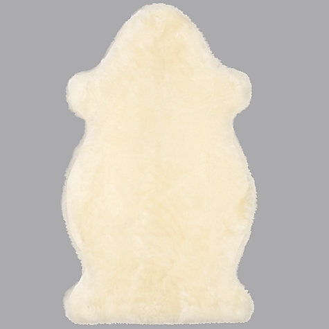 Buy John Lewis Baby Sheepskin Rug, Ivory Online at johnlewis.com