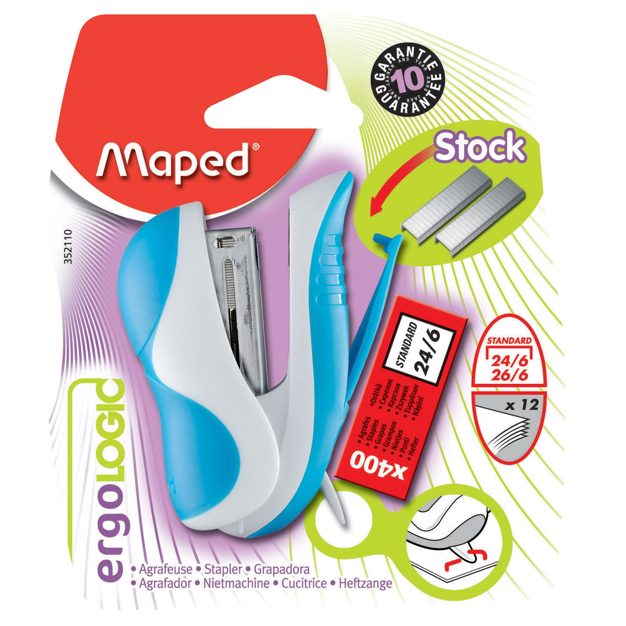 Maped Maped, Ergologic Mini Stapler