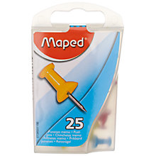 Buy Maped Push Pins, Box of 25 Online at johnlewis.com