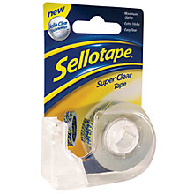 Buy Sellotape Super Clear Tape Dispenser, W1.8cm x L15m Online at johnlewis.com
