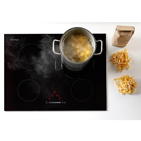 Buy Fisher & Paykel CE604DTB1 Electric Hob, Black Online at johnlewis.com