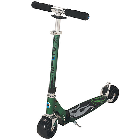 Buy Micro Scooters Rocket Aluminium Scooter, Green Online at johnlewis.com