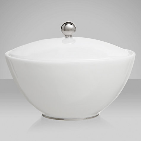 Buy Jasper Conran for Wedgwood Platinum Covered Sugar Box Online at johnlewis.com
