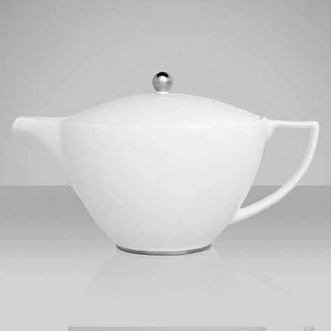 Buy Jasper Conran for Wedgwood Platinum Teapot, 1.2L Online at johnlewis.com