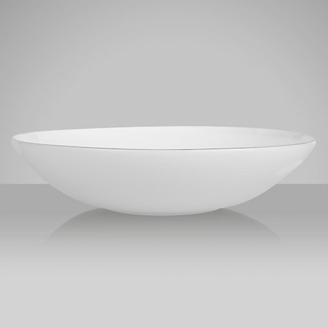 Buy Jasper Conran for Wedgwood Platinum Pasta Bowl, Dia.25cm Online at johnlewis.com