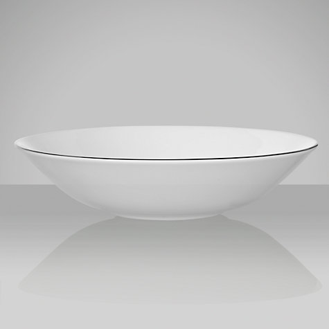 Buy Jasper Conran for Wedgwood Platinum Cereal Bowl, Dia.18cm Online at johnlewis.com