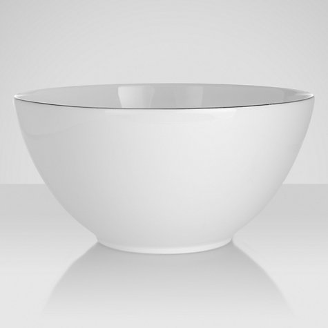 Buy Jasper Conran for Wedgwood Platinum Salad Bowl Online at johnlewis.com