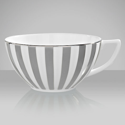 Buy Jasper Conran for Wedgwood Platinum Striped Teacup Online at johnlewis.com