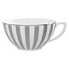 Buy Jasper Conran for Wedgwood Platinum Striped Tea Cup Online at johnlewis.com