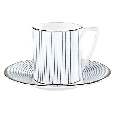 Buy Jasper Conran for Wedgwood Pinstripe Espresso Saucer Online at johnlewis.com