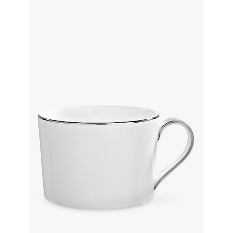 Buy Vera Wang for Wedgwood Blanc sur Blanc Teacup, 0.15L Online at johnlewis.com