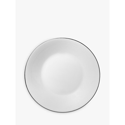 Buy Vera Wang for Wedgwood Blanc sur Blanc Tea Saucer, Dia.10.5cm, White Online at johnlewis.com