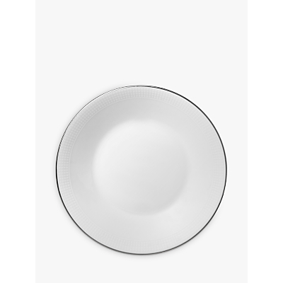 Vera Wang for Wedgwood Blanc sur Blanc Tea Saucer, Dia.10.5cm, White
