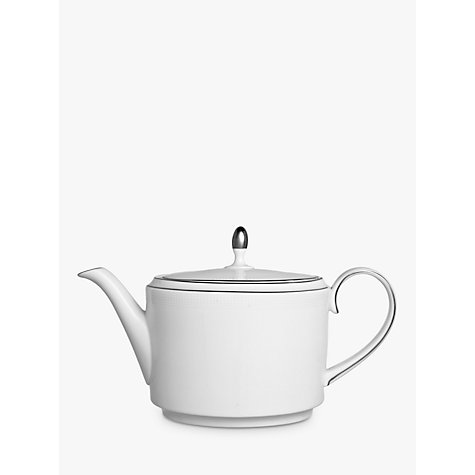 Buy Vera Wang for Wedgwood Blanc sur Blanc Teapot, 0.66L Online at johnlewis.com