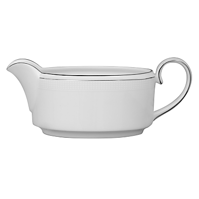 Vera Wang for Wedgwood Blanc sur Blanc Sauce Boat, 0.35L