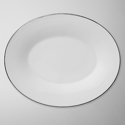 Image of Vera Wang for Wedgwood Blanc sur Blanc Sauce Boat Stand
