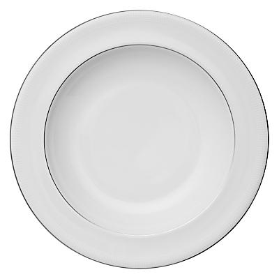 Image of Vera Wang for Wedgwood Blanc sur Blanc Pasta Plate, Dia.28cm
