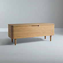 Buy Ebbe Gehl for John Lewis Mira TV Stand for TVs up to 47-inch, Oak Online at johnlewis.com