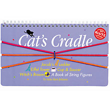 Buy Klutz Cat's Cradle: A Book of String Figures Online at johnlewis.com