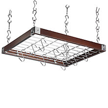 Buy Hahn Square Wood Ceiling Rack, Espresso Online at johnlewis.com