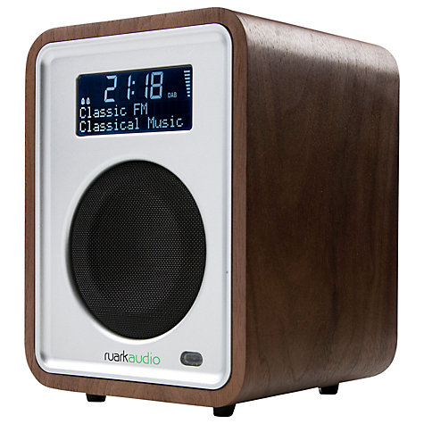 Buy Ruark R1 MKII DAB Radio, Walnut Veneer Online at johnlewis.com