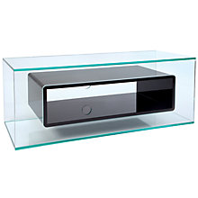 "Buy Greenapple GL59409 Niche Television Stand for TVs up to 50"", Black Gloss Online at johnlewis.com"