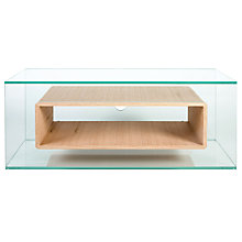 "Buy Greenapple GL59408 Niche Television Stand for TVs up to 50"", Oak Online at johnlewis.com"