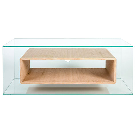 Buy Greenapple GL59408  Niche Television Stand for up to 50 TVs, Oak Online at johnlewis.com