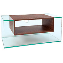 "Buy Greenapple GL59402 Cliff Television Stand for up to 42"" TVs, Walnut Online at johnlewis.com"
